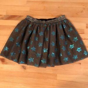 Cat & Jack Sparkle Star Skirt